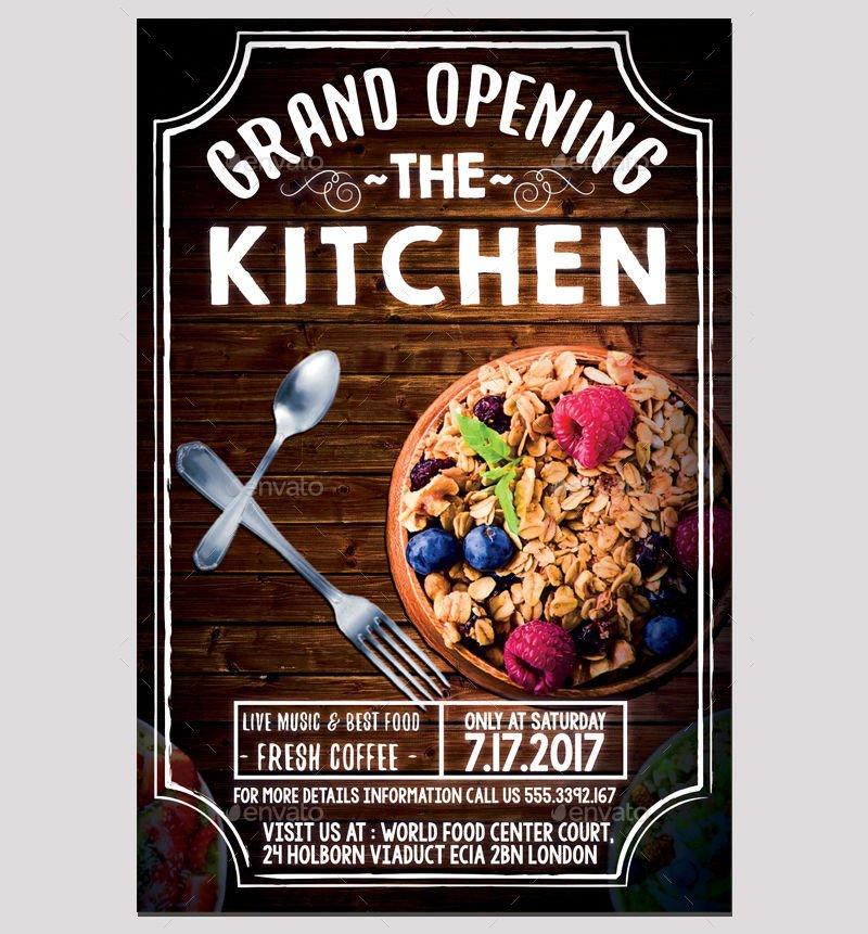 Restaurant Grand Opening Flyer 12 Restaurant Opening Flyer Designs Word Psd Ai Eps