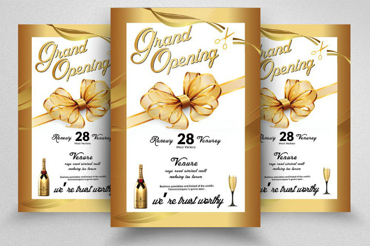 Restaurant Grand Opening Flyer 15 Restaurant Grand Opening Invitation Designs