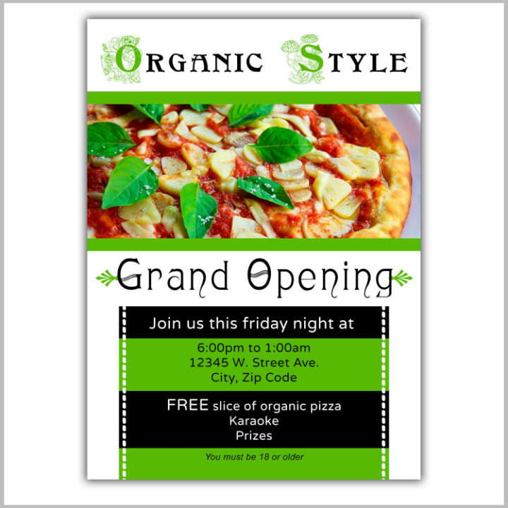 Restaurant Grand Opening Flyer 22 Restaurant Grand Opening Flyer Templates Ai Psd