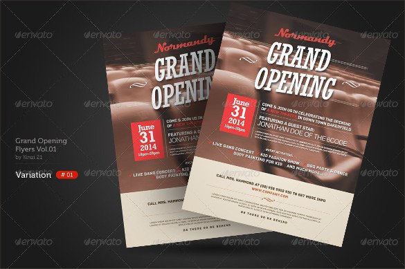 Restaurant Grand Opening Flyer 28 Grand Opening Flyer Templates Psd Docs Pages Ai