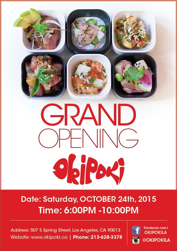 Restaurant Grand Opening Flyer Entry 28 by Designzforworld for Design Restaurant Grand