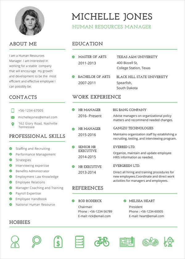 Resume Template Download Word 26 Word Professional Resume Template Free Download