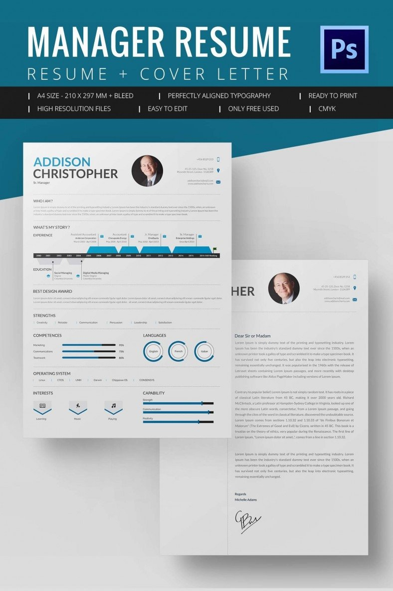 Resume Template Download Word Project Manager Resume Template 10 Free Word Excel