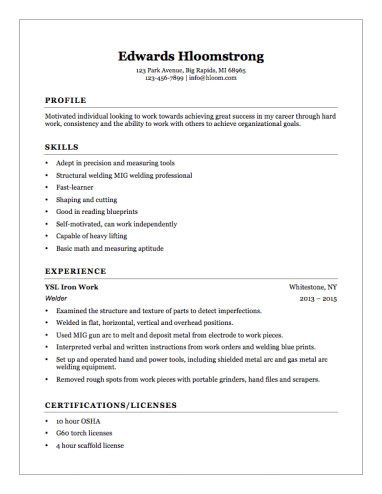 Resume Template for First Job 12 Free High School Student Resume Examples for Teens