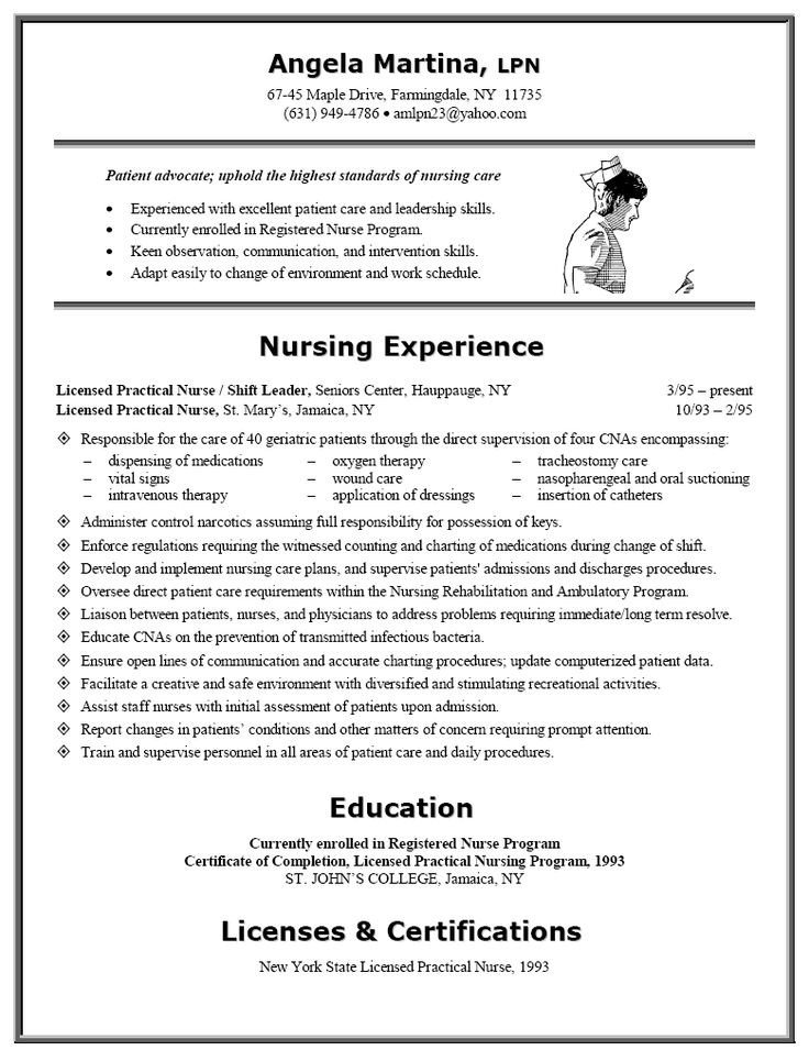 Resume Template for Nursing Best 25 Nursing Resume Ideas On Pinterest