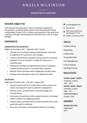 Resume Template Free Download Free Resume Templates Download for Word