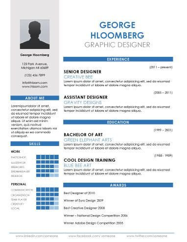 Resume Templates In Word 89 Best yet Free Resume Templates for Word