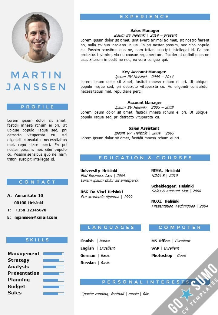 Resume Templates On Word Cv Resume Template In Word Fully Editable Files Incl 2nd