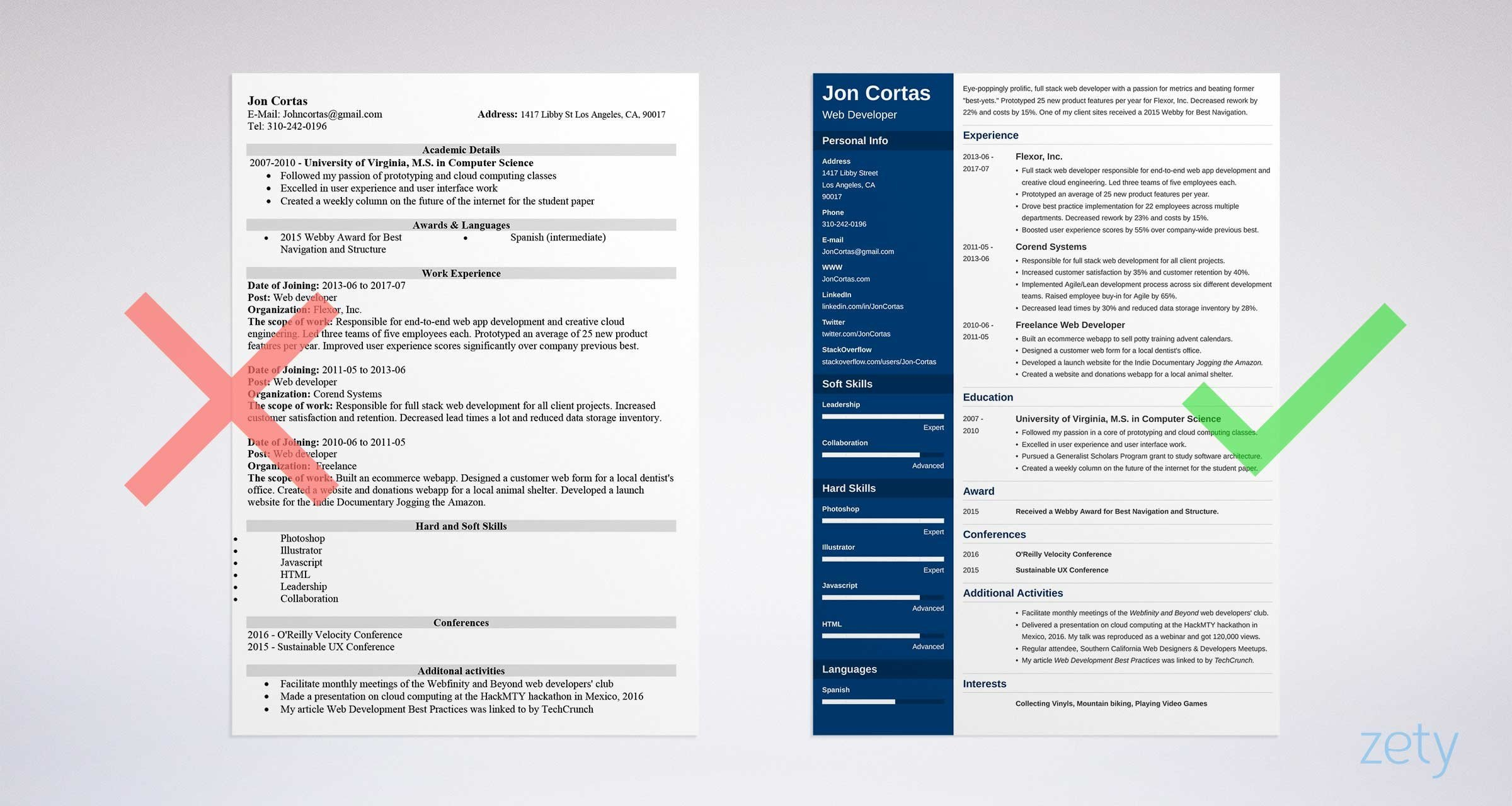 Resume Templates On Word Free Resume Templates for Word 15 Cv Resume formats to