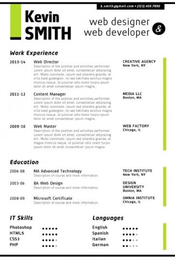 Resume Templates On Word Trendy Resume Templates for Word Fice