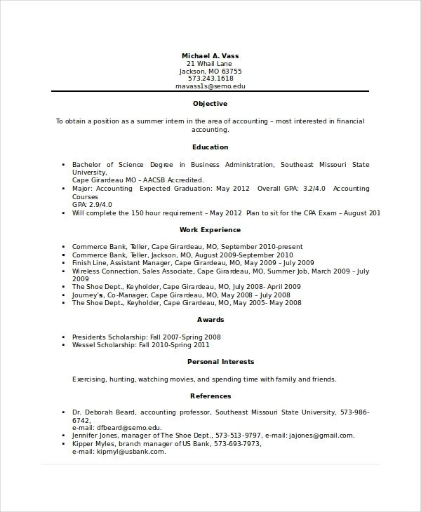Resumes for Bank Teller Bank Teller Resume Template 5 Free Word Excel Pdf