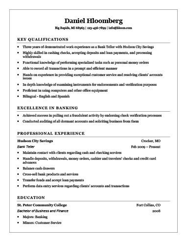 Resumes for Bank Teller Cashier Resume [how to Write 16 Examples]