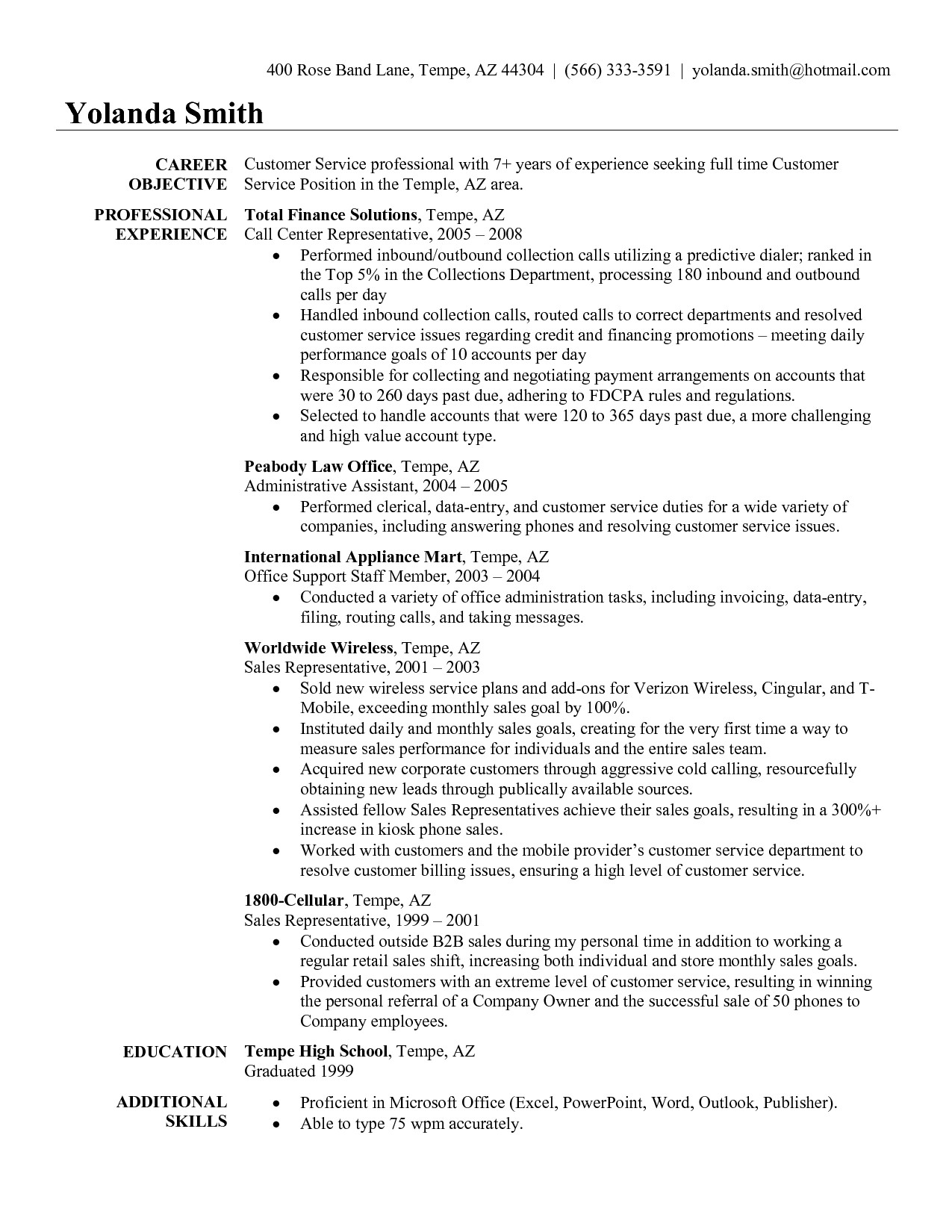 Retail Customer Service Resume Traffic Customer Resume Examples Customer Service Resume