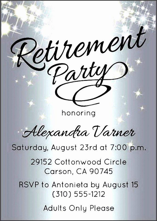 Retirement Invitation Template Free 10 Retirement Party Invitation Template Sampletemplatess