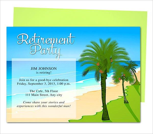 Retirement Invitation Template Free Retirement Party Invitation Template 36 Free Psd format