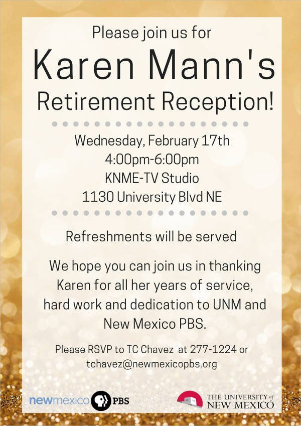Retirement Party Flyer Templates 44 Party Flyer Templates Free Download
