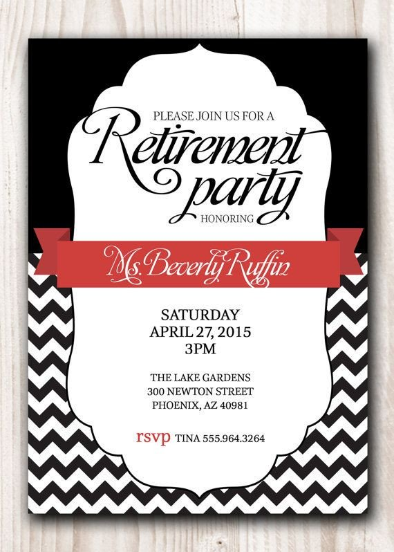 Retirement Party Invitation Templates 25 Unique Retirement Invitations Ideas On Pinterest