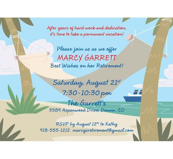 Retirement Party Invitations Templates 25 Best Ideas About Retirement Invitations On Pinterest