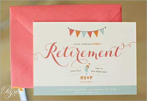 Retirement Party Invitations Templates Sample Invitation Template Download Premium and Free