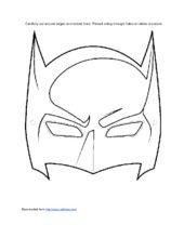 Riddler Mask Template 1000 Ideas About Batman Mask On Pinterest