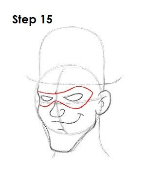 Riddler Mask Template How to Draw the Riddler