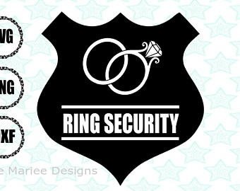 Ring Security Badge Template Ring Security Svg