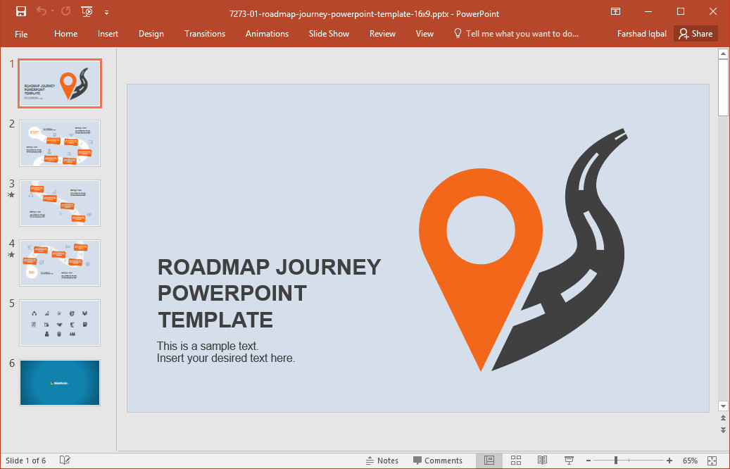 Roadmap Powerpoint Template Free Best Roadmap Templates for Powerpoint