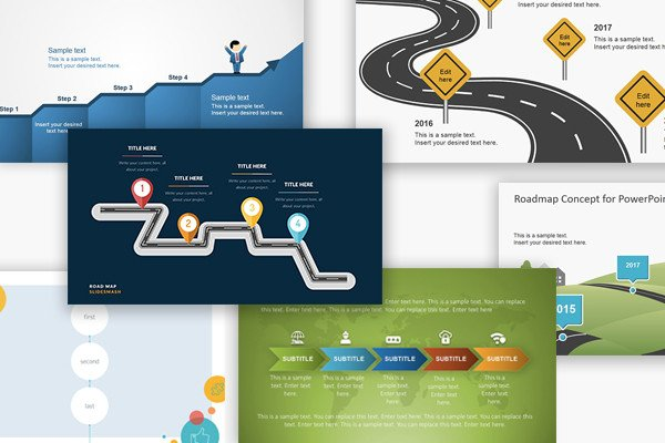 Roadmap Powerpoint Template Free Free Google Slides themes and Powerpoint Templates for
