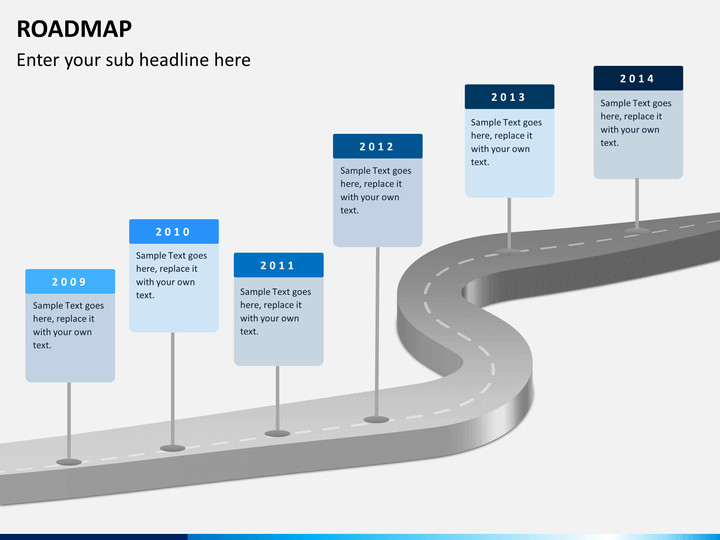 Roadmap Powerpoint Template Free Roadmap Powerpoint Template