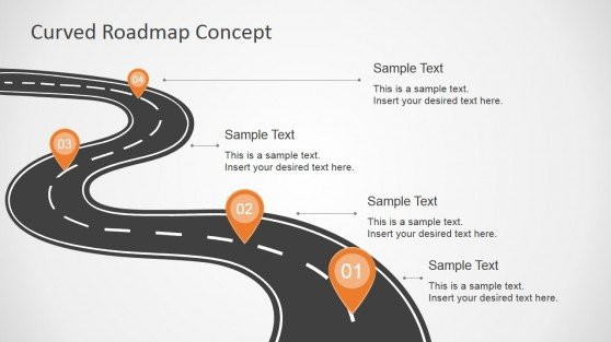Roadmap Powerpoint Template Free Roadmap Powerpoint Templates