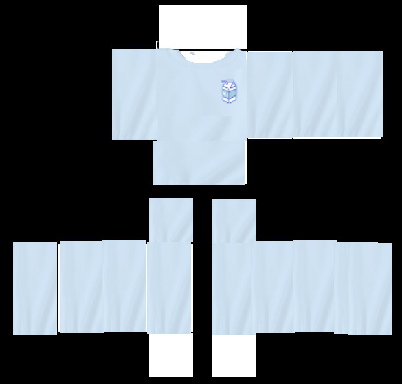 Roblox Apron Template Kawaii Milk Sweater Template