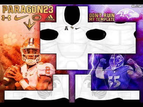 Roblox Football Jersey Template Roblox Paragon23 Jersey Template Tutorial