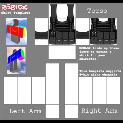 Roblox Vest Template Vest Template Roblox