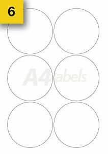 Round Adhesive Label Template Polaroid 120 Self Adhesive Round Sticky Labels Circular Printer
