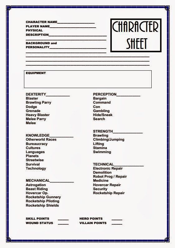 Rpg Character Sheet Template Farsight Blogger January 2014