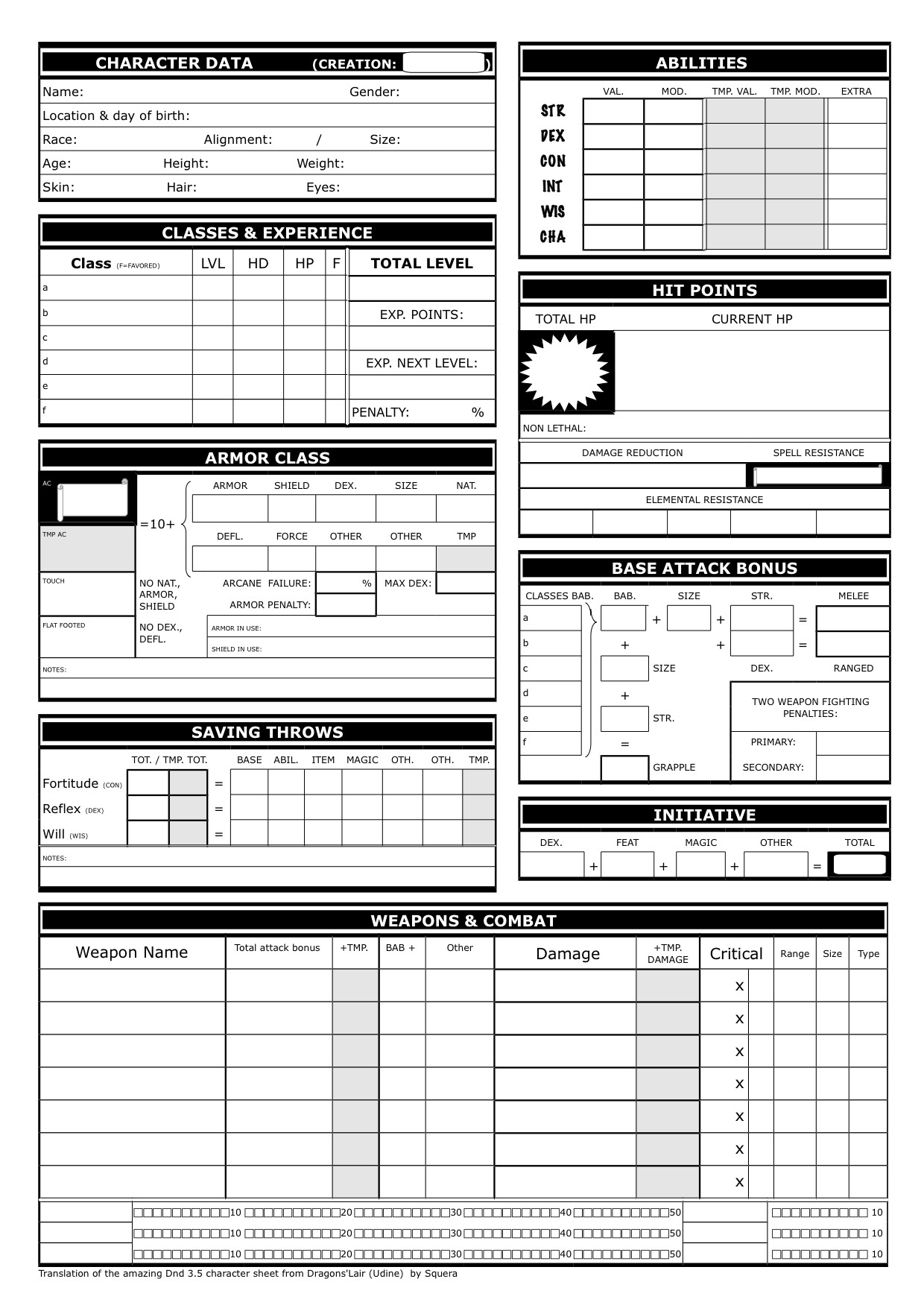 Rpg Character Sheet Template Show Off Your Character Sheet Designs Role Playing Games