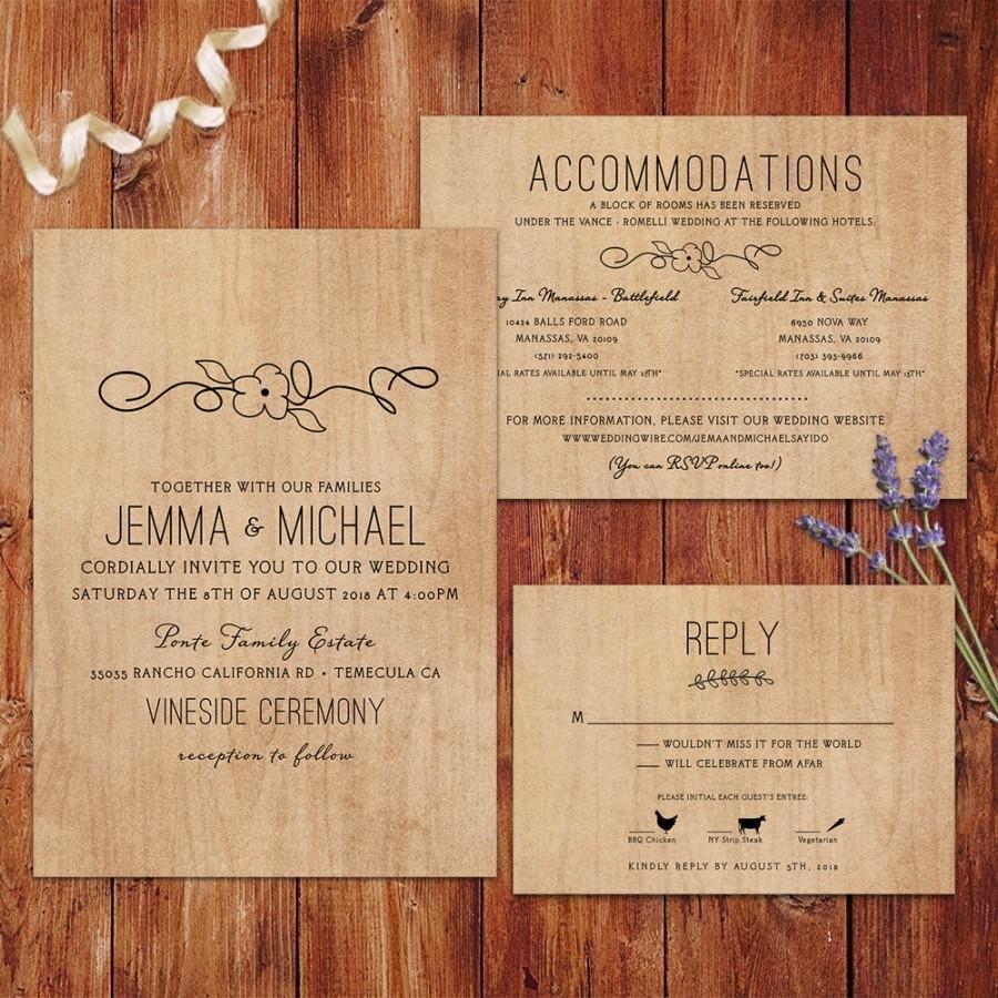 Rustic Wedding Invitation Background Rustic Wedding Invitations Wood Background Wedding