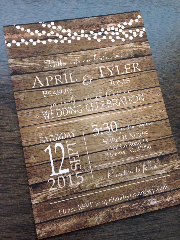 Rustic Wedding Invitation Background Wedding Party with Rustic Country Wedding Invitations