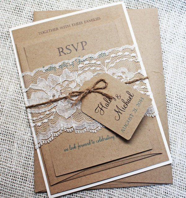 Rustic Wedding Invitation Templates 57 Examples Of Wedding Invitations Psd Ai Eps