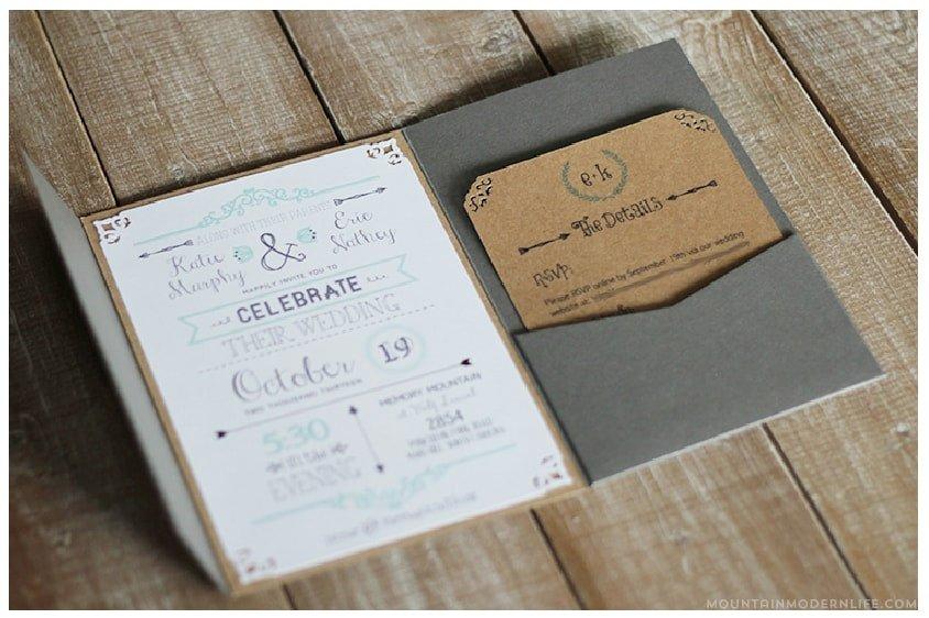 Rustic Wedding Invites Templates Free Wedding Invitation Template