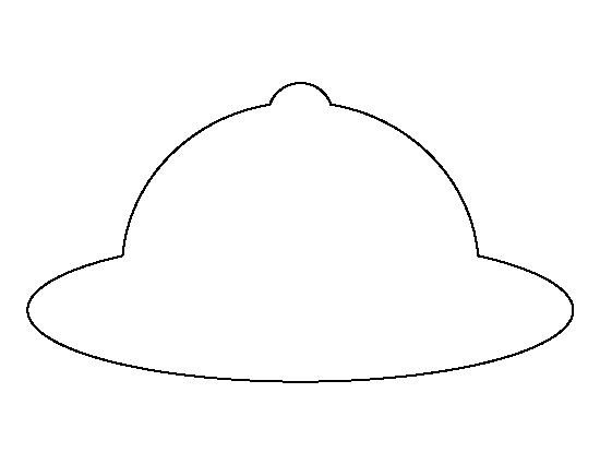 Safari Hat Template Pin by Muse Printables On Printable Patterns at