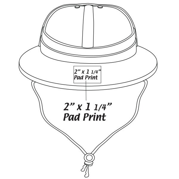 Safari Hat Template Promotional Plastic Adjustable Safari Hat