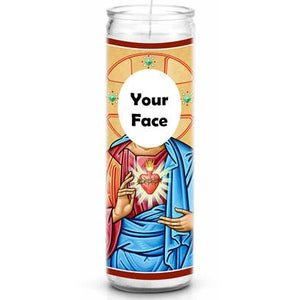 Saint Candle Template Candle Labels