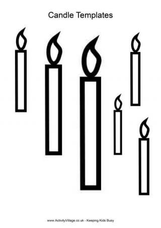 Saint Candle Template Candle Printables