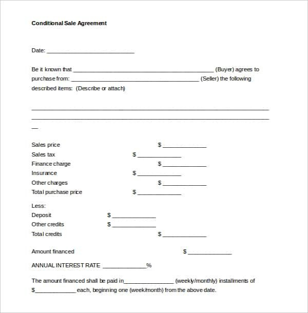 Sales Agreement Template Word 47 Contract Templates Word Docs Pages