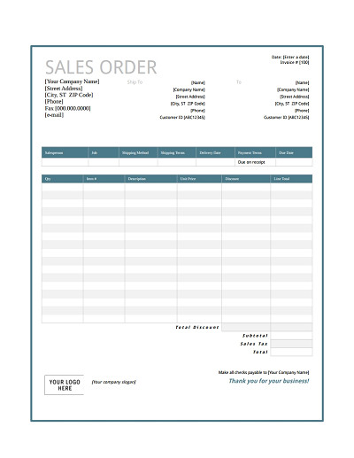Sales order forms Templates Sales order Template Free Download Edit Fill Create
