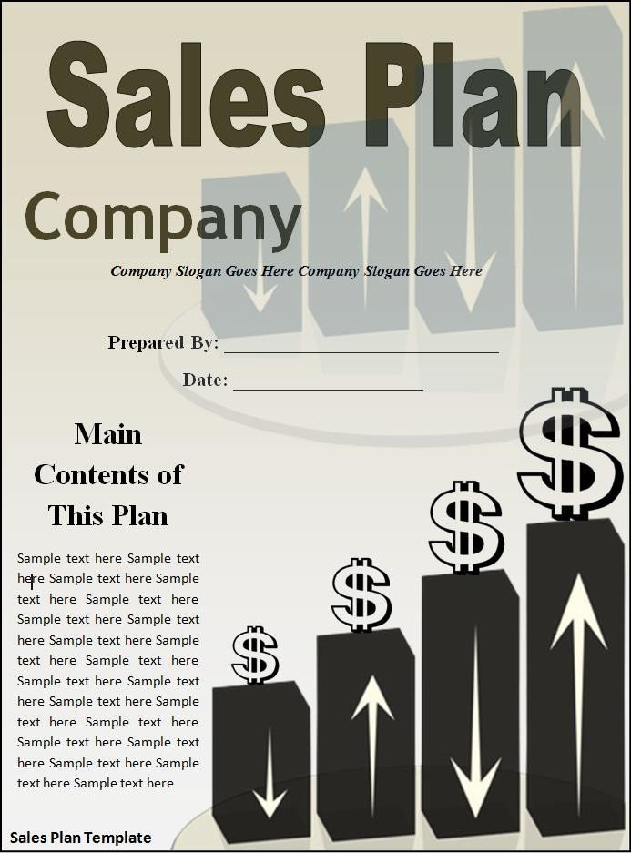 Sales Plan Template Word 10 Sales Plan Templates