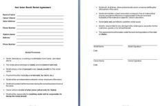 Salon Booth Rental Agreement A Template for A Hair Salon Booth Rental Agreement