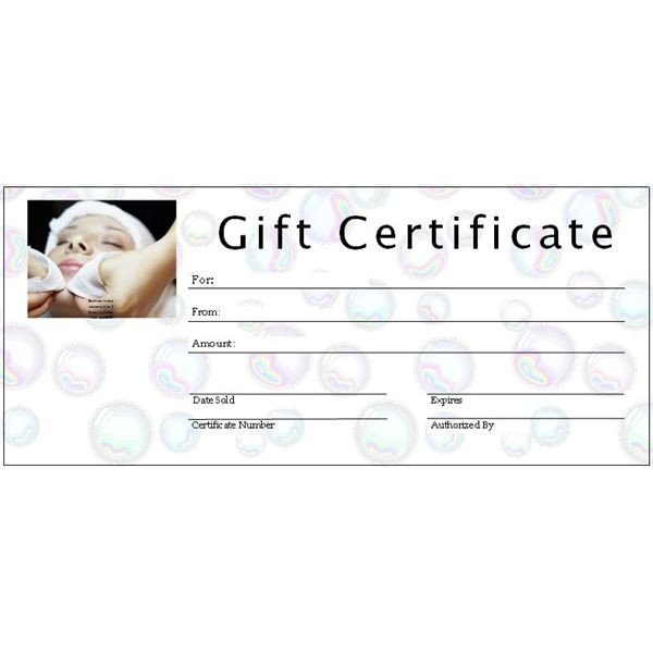 Salon Gift Certificate Templates 6 Free Printable Gift Certificate Templates for Ms Publisher