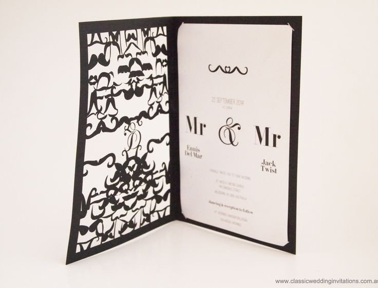 Same Sex Wedding Invitations Same Wedding Invitations